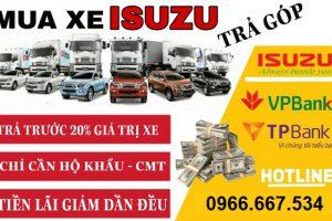 Giá bán xe tải isuzu trả góp- thủ tục mua xe tải isuzu trả góp!