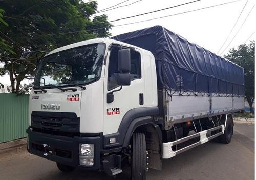 Giá xe tải Isuzu 9 tấn siêu dài