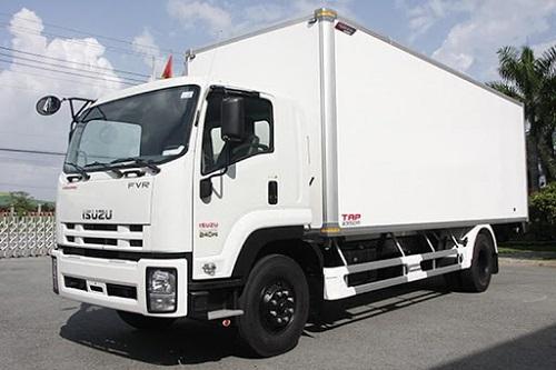 Giá xe tải isuzu 5 tấn- Có những loại thùng xe nào?