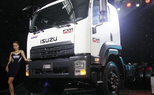 Xe tải Isuzu FVR 900 – 8t2 thùng đông lạnh