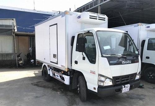 Xe Isuzu QKR 230 – 2.5 tấn thùng đông lạnh