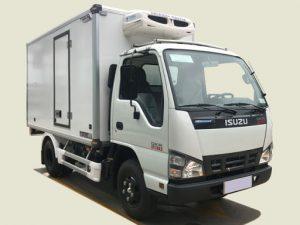 Xe Isuzu QKR 230 – 1.4 tấn thùng đông lạnh