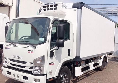 Xe tải isuzu NPR 400 – 3t5 thùng đông lạnh