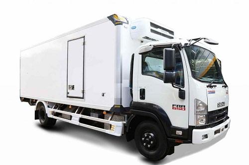 Xe tải Isuzu FRR 650 – 6 tấn thùng đông lạnh