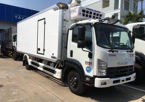 Xe tải Isuzu FRR 650 – 6.5 tấn thùng đông lạnh