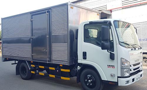 xe tải 2t1 thùng kín