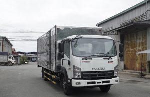 Xe tải Isuzu FRR 650 – 7 tấn thùng kín