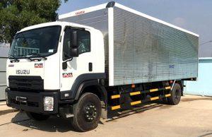 Xe tải Isuzu FVR 900 – 8 tấn thùng kín