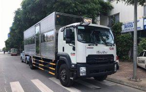 Xe tải Isuzu FVR 900 – 8.2 tấn thùng kín