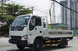 Isuzu QKR 230 – Thùng lửng 2.4 tấn thùng lửng