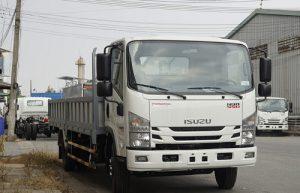Xe tải Isuzu NQR 550 – 5.5 tấn thùng lửng