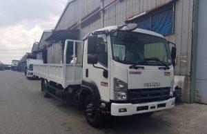 Xe tải Isuzu FRR 650 – 6.5 tấn thùng lửng