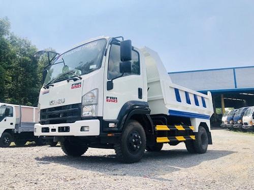 Xe tải Isuzu FRR 650 – 7 tấn thùng lửng