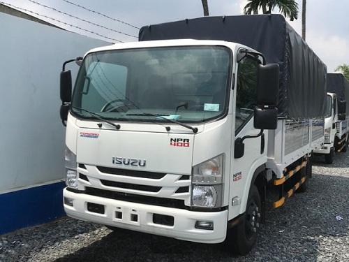 xe tải isuzu 3.5 tấn thùng mui bạt