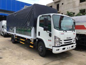 Xe isuzu NQR 550 – 5t7 thùng mui bạt