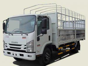Xe tải Isuzu NQR 550 – 5.5 tấn thùng mui bạt