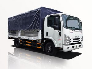 Xe tải Isuzu NPR 400 – 3.5 tấn thùng mui bạt