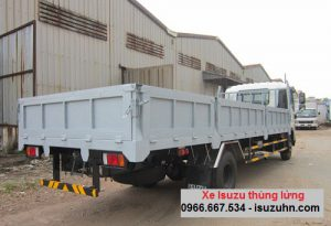 Xe tải Isuzu NMR 310 – 2.1 tấn thùng lửng