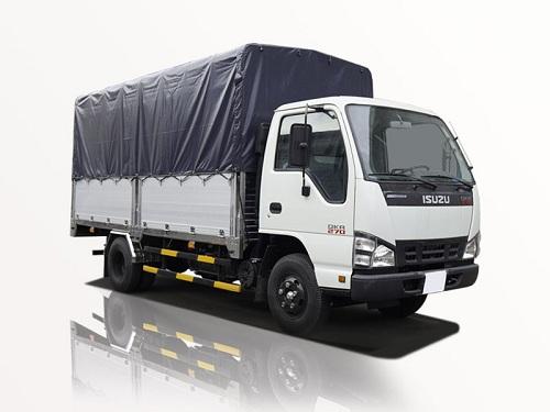 Xe tải Isuzu QKR 270 – 1.9 tấn thùng mui bạt