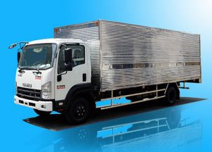 Xe tải Isuzu FRR 650 – 6.2 tấn thùng kín