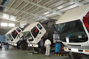 Bảng giá bảo dưỡng xe tải