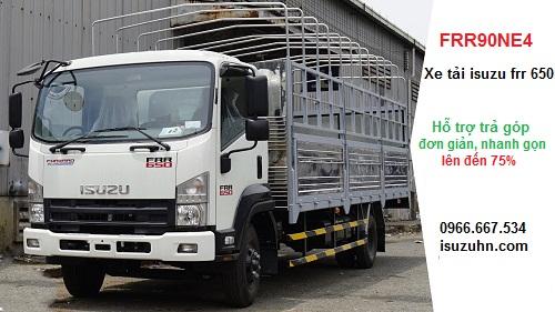 xe tải isuzu frr 650 trả góp