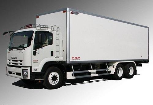 Xe tải isuzu thùng kín