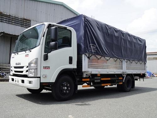 Xe tải thùng mui bạt