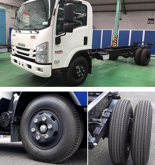 Giá lốp xe ô tô tải Isuzu và áp suất định mức thay lốp đạt chuẩn