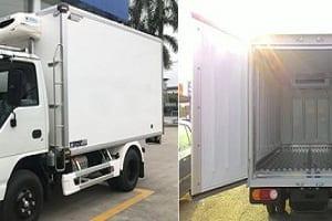 Cơ sở đóng thùng đông lạnh xe tải Isuzu chất lượng, giá rẻ ưu đãi số 1 toàn quốc