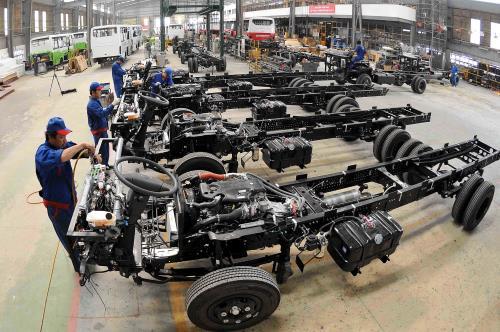 sản xuất khung ô tô