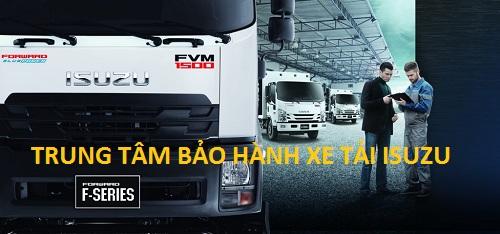 trung tâm bảo hành xe tải isuzu