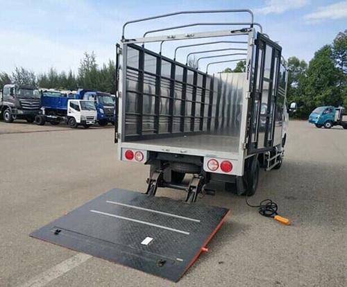 Giá bửng nâng xe tải và cấu tạo bàn nâng thùng xe tải cơ bản