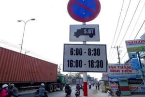 Giờ cấm xe tải Hà Nội 2021 – Dịch vụ xin giấy phép vào phố cấm