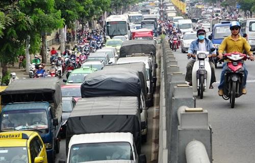 giờ cấm xe tải hà nội
