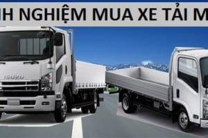 Kinh nghiệm mua xe tải mới phù hợp, tiết kiệm đáng kể chi phí
