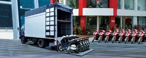 xe tải thùng bửng nâng