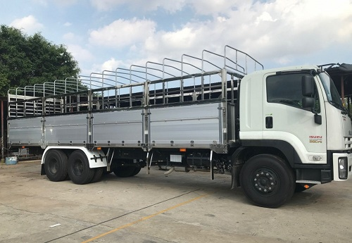Xe tải 3 chân là gì? Kích thước và tải trọng xe tải 3 chân Isuzu
