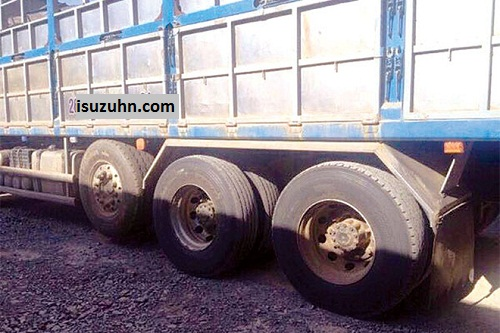 tải trọng trục xe là gì