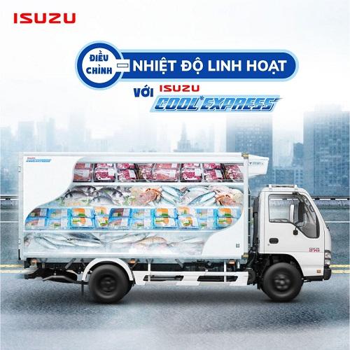 xe tải chở hàng đông lạnh
