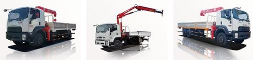 giá bán xe tải cẩu đã qua sử dụng