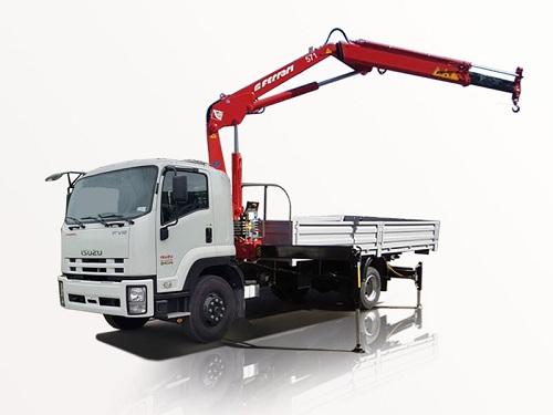 Tìm hiểu xe tải gắn cấu  và giá bán xe tải cẩu đã qua sử dụng