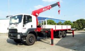 xe tải gắn cẩu 10 tấn