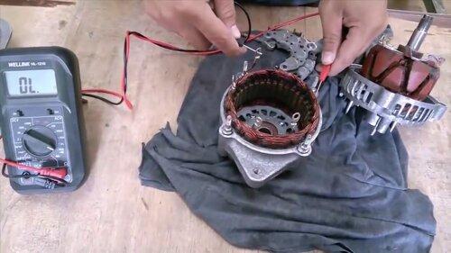 kiểm tra máy phát điện